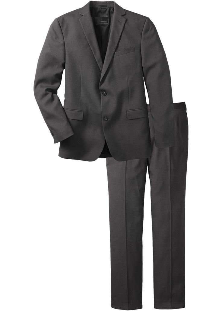 Completo slim fit (set 2 pezzi), T.N. Antracite - bpc selection è ordinabile nello shop on-line di bonprix.it da ? 59,99. Completo dal taglio slim fit.
