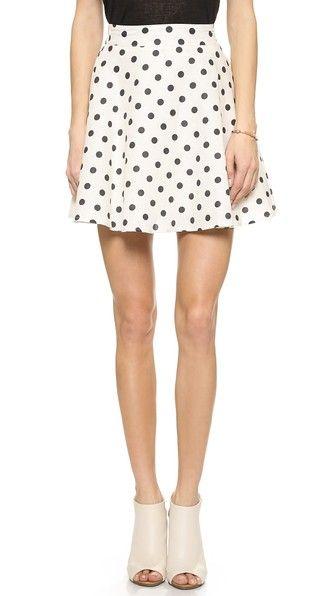 J.O.A. Polka Dot Skirt