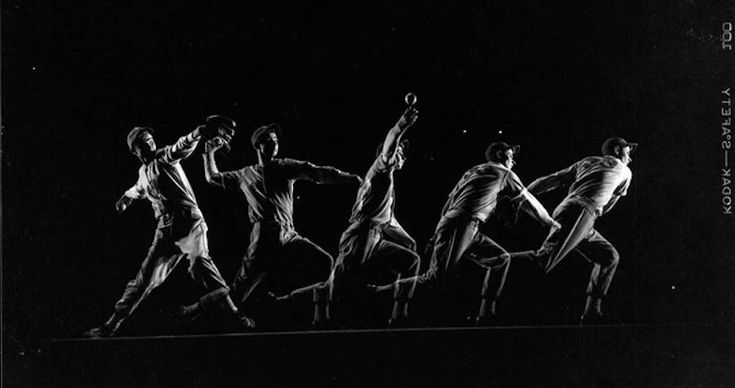 Black and White Movements Photography by Gjon Mili