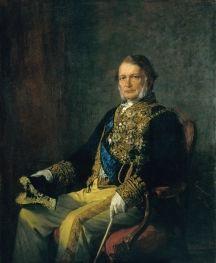 """Miguel Ângelo Lupi (1826 - 1883), """"Retrato do Duque d'Ávila de Bolama"""" 1880"""
