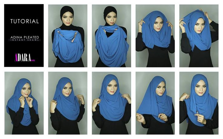 Instant Shawl(pleated)