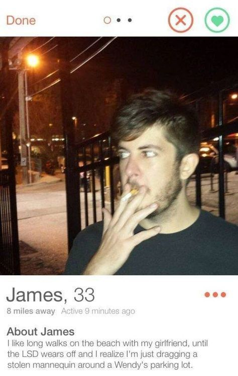 33 Funny Tinder Profiles That Definitely Got People Some