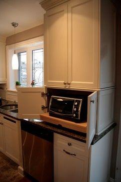 Beaconsfield Kitchen - contemporary - kitchen - montreal - The Corner Woodshop / L'Atelier du Coin