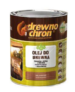 Olej do drewna na bazie wysokojakościowych olejów w naturalnych, z dużą zawartością oleju tungowego. Przeznaczony jest do malowania drewna krajowego i egzotycznego, celem zabezpieczenia przed działaniem czynników atmosferycznych i uzyskania szlachetnego efektu dekoracyjnego http://drewnochron.pl/produkty/p/985-olej-do-drewna