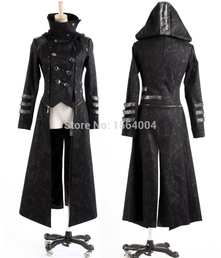 Aliexpress.com : Buy Punk Rave Fashion Mens Punk Streampunk Visual Kei Gothic Long&short Jacket Coat Hoodie Y364 from Reliable hoodies music suppliers on Punk Rave Store   | Alibaba Group