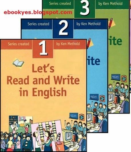 Free ebooks: Let's Read and Write in English (3 Books)