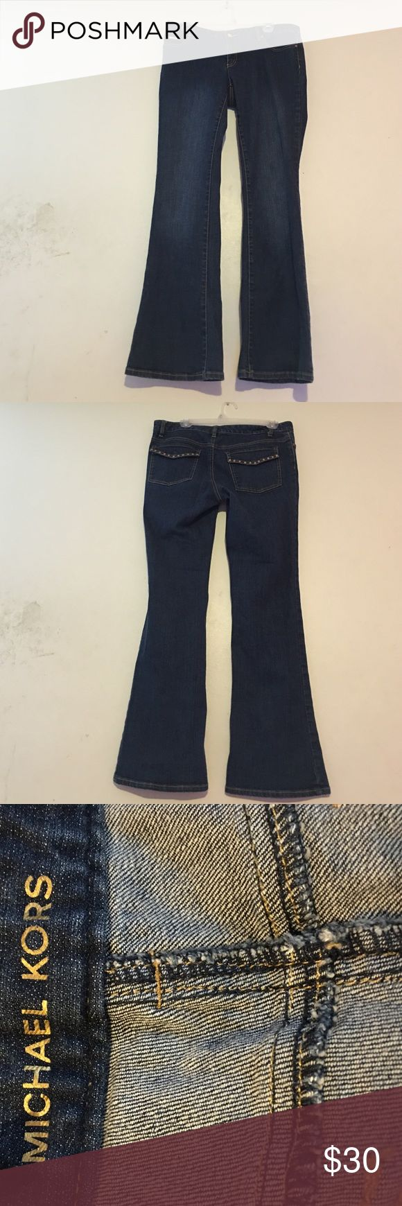 1 DAY SALE FIRM PRICE Michael kors size 8 jeans Stylish jeans with gorgeous design Michael Kors Jeans