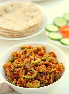Karela Besan Sabzi Recipe, How to make Besan Karela Sabji Recipe