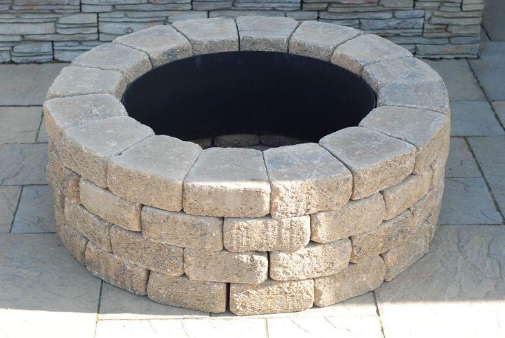 Brick Fire Rings Nantucket Pavers 71004 Concrete Ashford