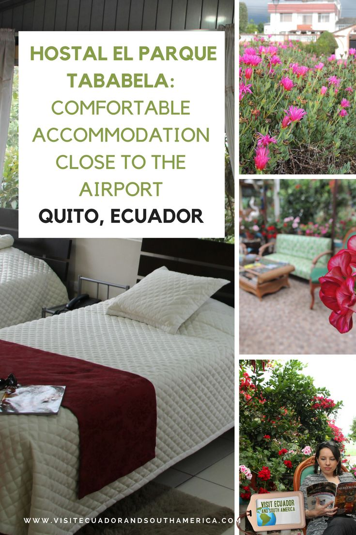 For those #traveling to or from #Quito, a great option to stay in  is The Hostal El Parque Tababela with comfortable rooms and friendly customer service.