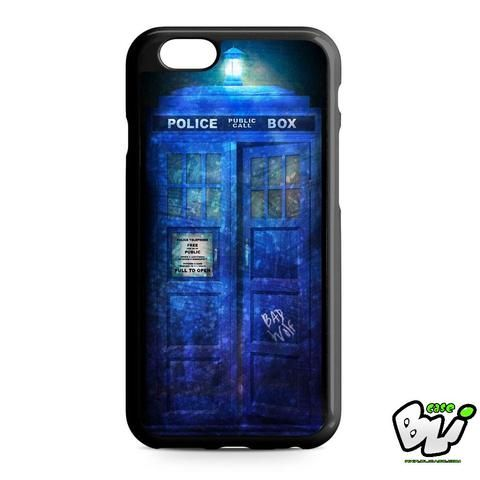 Tardis Concept Blue Galaxy iPhone 6   iPhone 6S Case