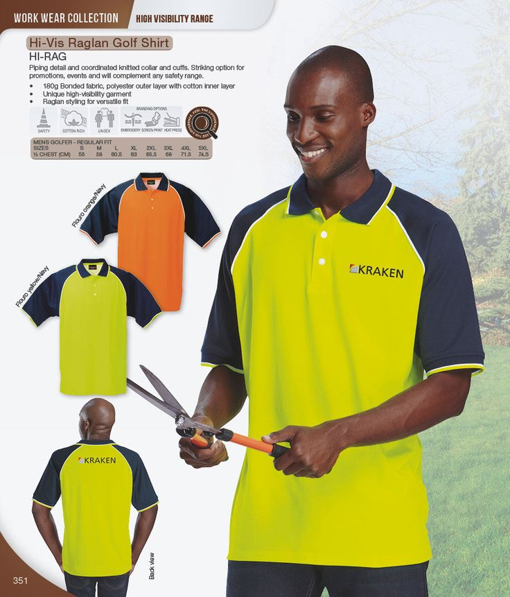 High Visibility Golf Shirts