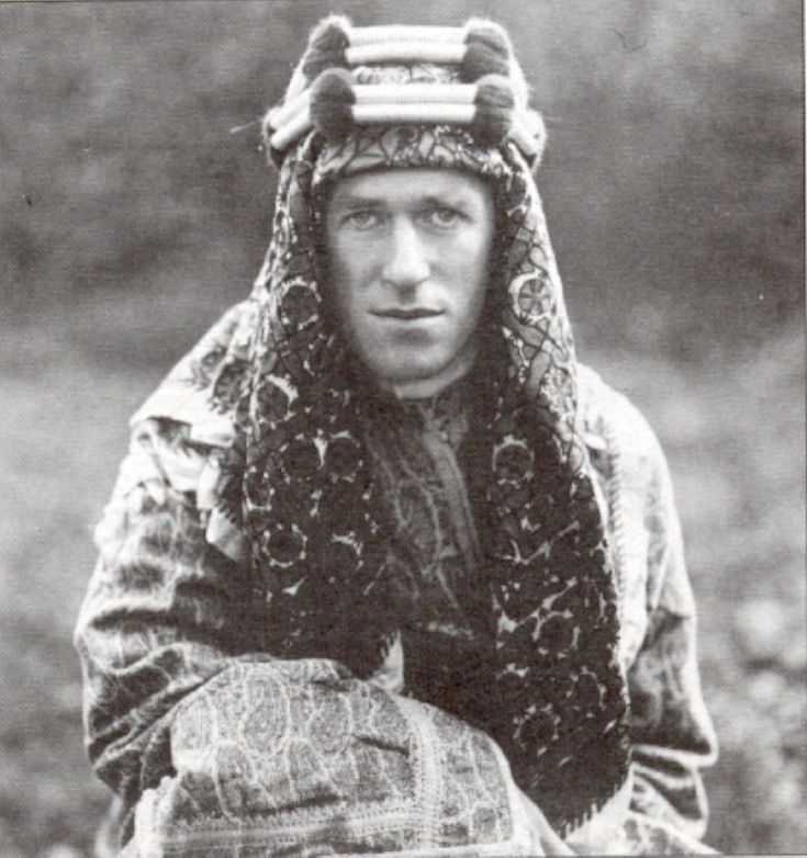 Lawrence of Arabia led The Arab Uprising in 'The Great War' and became the anonymous 'Aircraftsman Ross' of the Royal Air Force based at Bovington Camp in Dorset. One day in 1935 he rode from Bovington Camp on his motorcycle and was killed in a motorcycle accident at Cloud's Hill near Bovington in Dorset.  Lawrence was an enigma and a man whose end did not match his heroic deeds in The Arab Uprising and in The Great War. R.I.P T.E. Lawrence, you were a Great Man of The Great War.