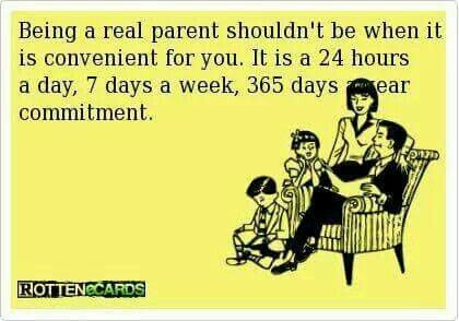 True. Spend time with your kids. They should come first.