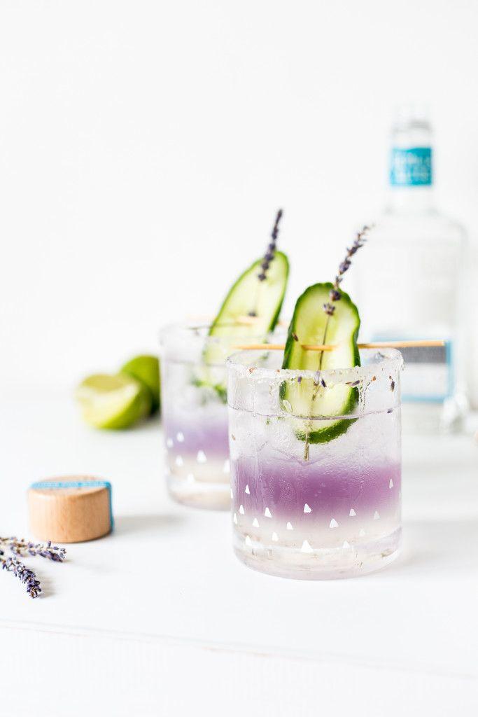 lavender margarita glasses