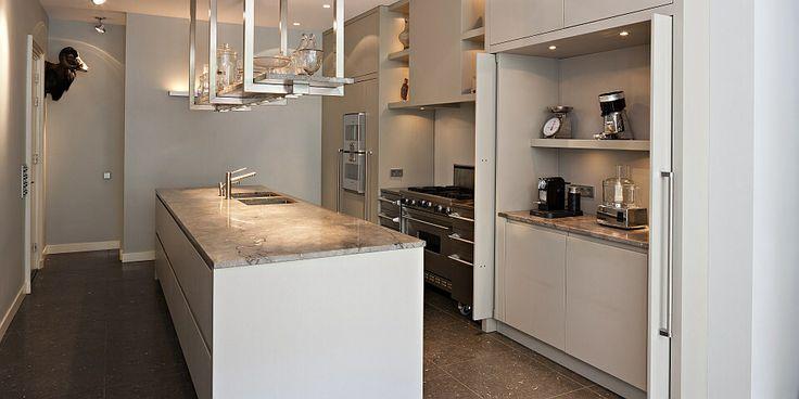 paul van de kooi keuken met extra werkblad achter