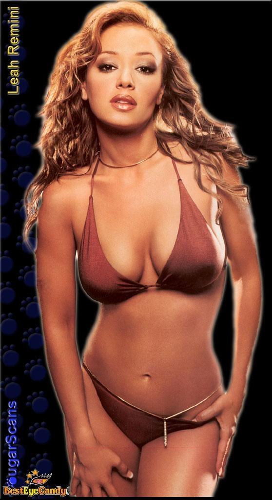 Leah remini bikini shots