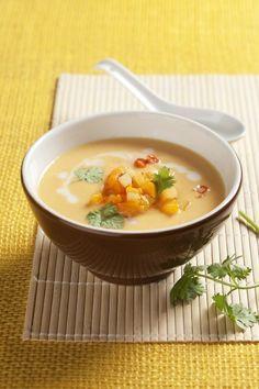 Recept: Pikantní bramborovo-dýňová polévka ky