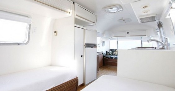 Vintage Airstream Trailers: da vecchie roulotte ad abitazioni comode e luminose