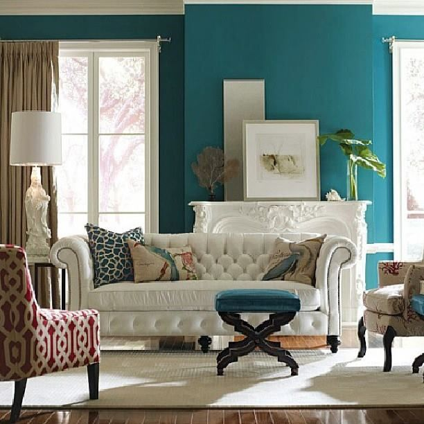 decoracao de interiores tumblr:Turquoise Walls