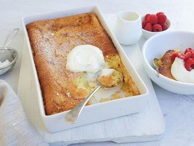 Impossible Pudding Recipe