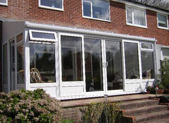 Lean To uPVC Conservatory. Hassocks, Sussex.