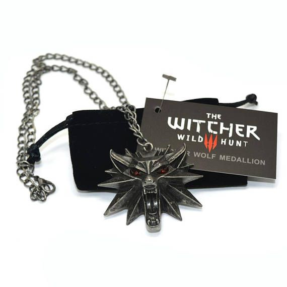 Medallion from a game the Witcher 3 wild hunt the wolf head