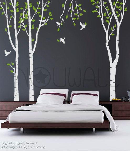 Kunst Baum Wand Aufkleber Wand Aufkleber Baum Decal von NouWall