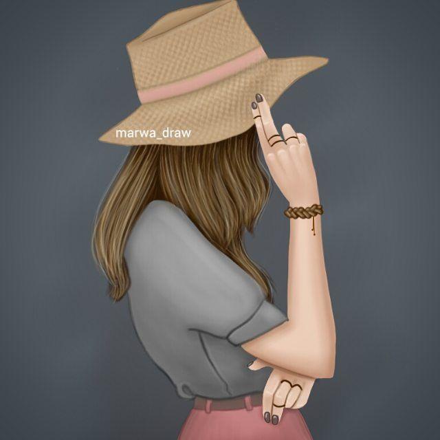 صور رسم بنات كرتون رمزيات رسومات انمي للانستقرام Cute Girl Drawing Girly Pictures Cartoon Girl Images