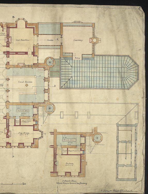 Right portion of floor plan Mount