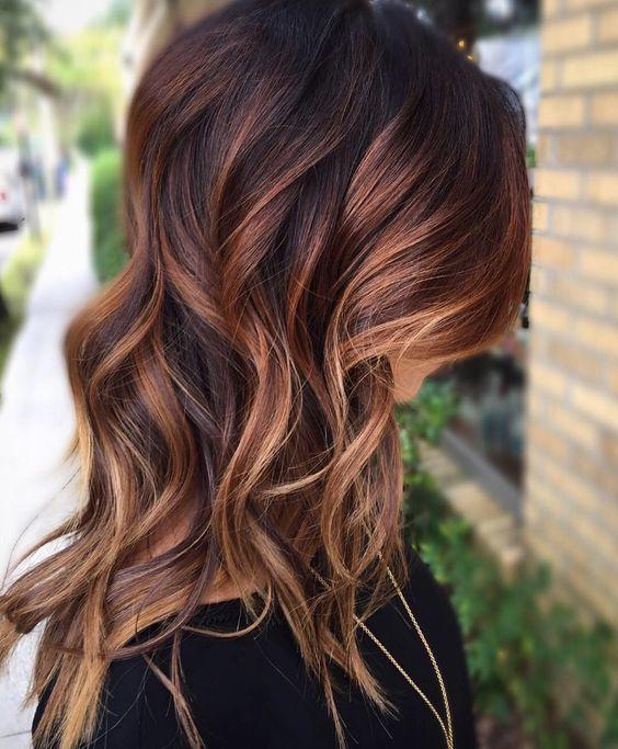 50 modische Ideen für braunes Haar mit blonden Highlights