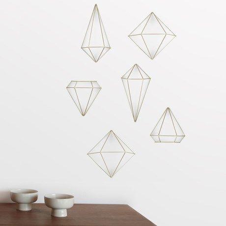 Vägg- eller bordsdekoration i geometriska former!