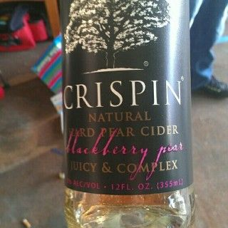 BlackBerry Pear Cider - Crispin Cider Company - Old Chicago