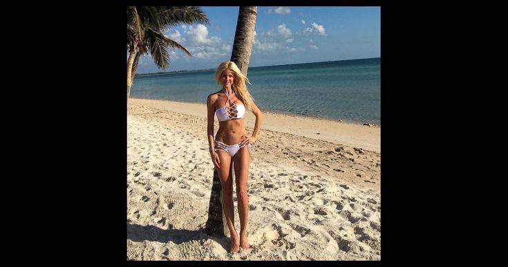 Victoria Silvstedt : Canon en bikini, sous le soleil des Caraïbes