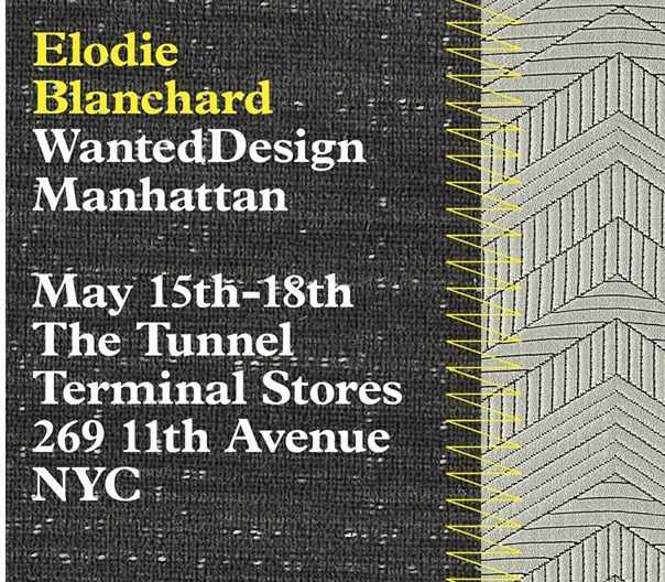 WantedDesign- International Design Event in Manhattan...join HBF Textiles and Elodie Blanchard Studio. With its marquee events during NYCxDESIGN in May, WantedDesign is a platform dedicated to promoting design and fostering the international creative community at large throughout the year. - See more at: http://www.wanteddesignnyc.com/about/#sthash.3IUbT4Na.dpuf