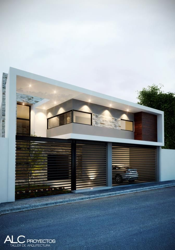 25 best ideas about modern house facades on pinterest for Casa quinta minimalista