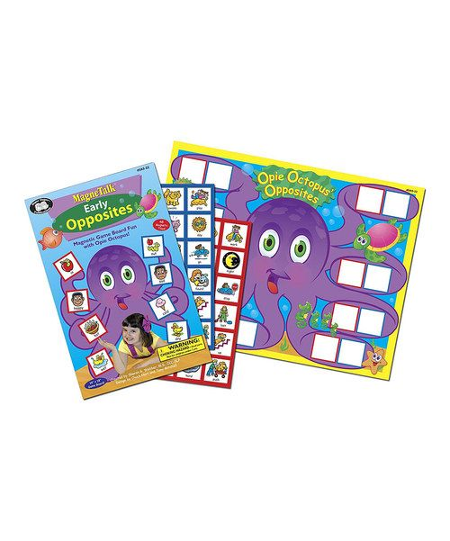 Look at this MagneTalk Early Opposites Game on #zulily today!