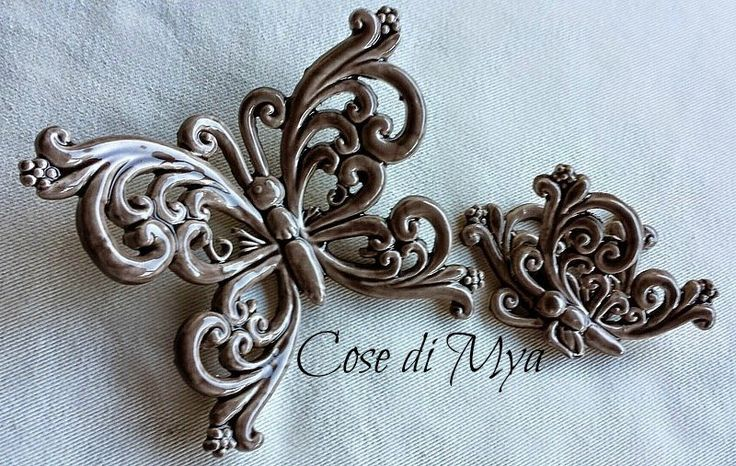 FARFALLE DI CERAMICA, by COSE DI MYA, 15,00 € su misshobby.com