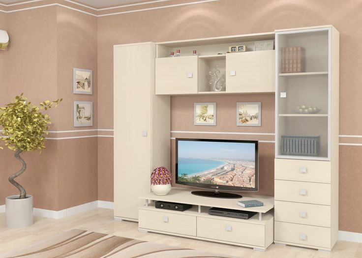 Стенка Ника (клен) - изящное решение для создания по-настоящему светлого, воздушного помещения. Мягкий, кремово-белый цвет наполняет комнату жемчужным светом, создавая непередаваемую атмосферу волшебства и уюта, а компактные размеры позволяют разместить стенку Ника почти в любой гостиной или спальне. Шкаф для одежды, а так же большое количество ящиков для хранения, позволяют максимально эффективно задействовать вертикальное пространство комнаты.