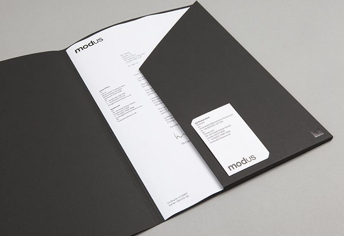 Modus branding & identity by Studio Small