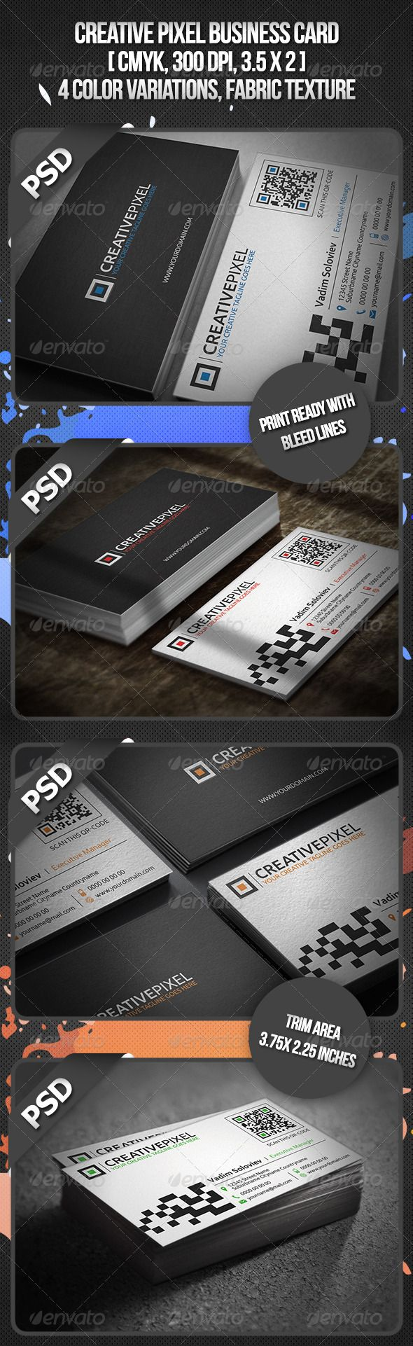 42 best QR code business card images on Pinterest | Business card ...
