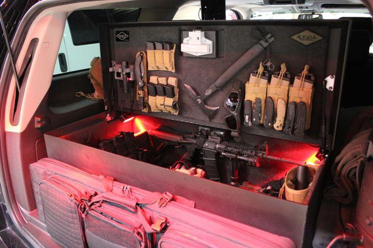 Svi Tactical Custom Storage Locker Land Rover Vehicle