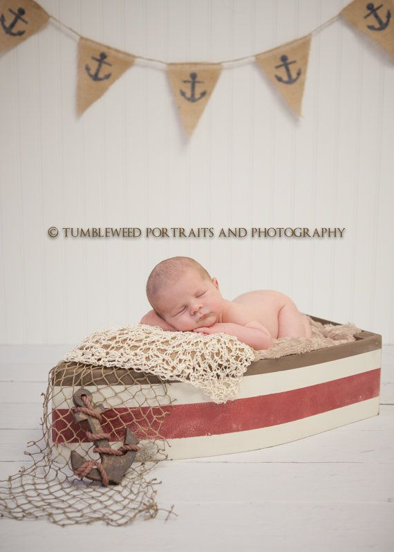 Photography Prop Boat Boat Prop Newborn Photo by MrAndMrsAndCo