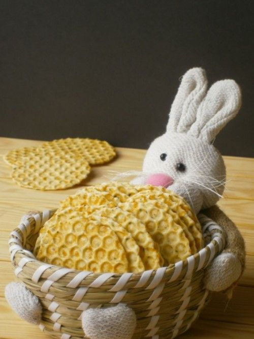 Medvehagymás sajtos tallér