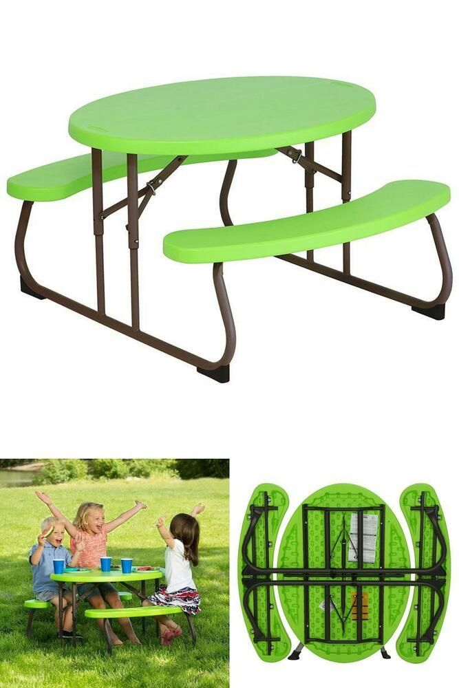 Brilliant Toddlers Garden Set Picnic Table Bench Chair Yard Toy Gmtry Best Dining Table And Chair Ideas Images Gmtryco
