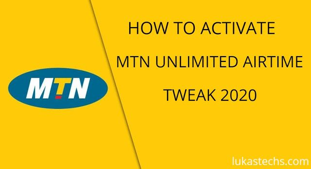 How To Activate Mtn Unlimited Free Airtime Tweak 2020 In 2020 Phone Codes Unlimited Activated