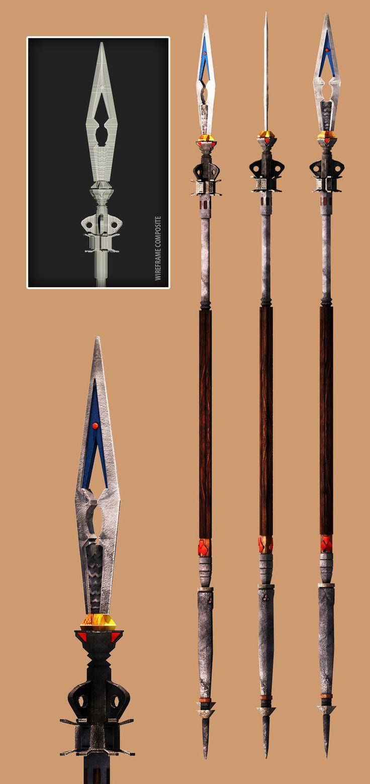 FFXIV: Dragoon Spear, Christian Whelan on ArtStation at https://www.artstation.com/artwork/kDOqy