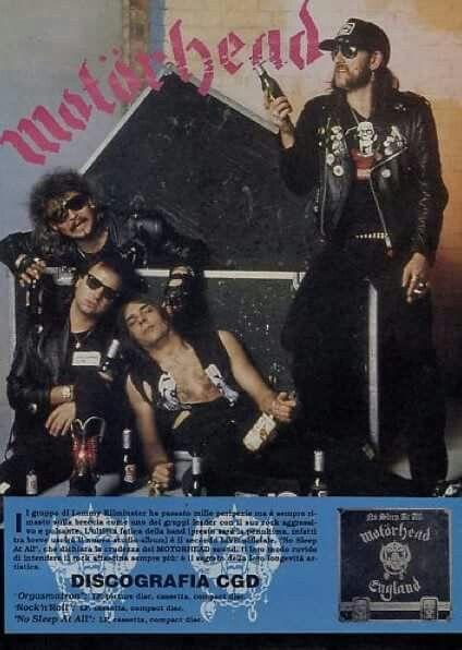 Phil Taylor/Phil Campbell/Wurzel/Lemmy Kilmister