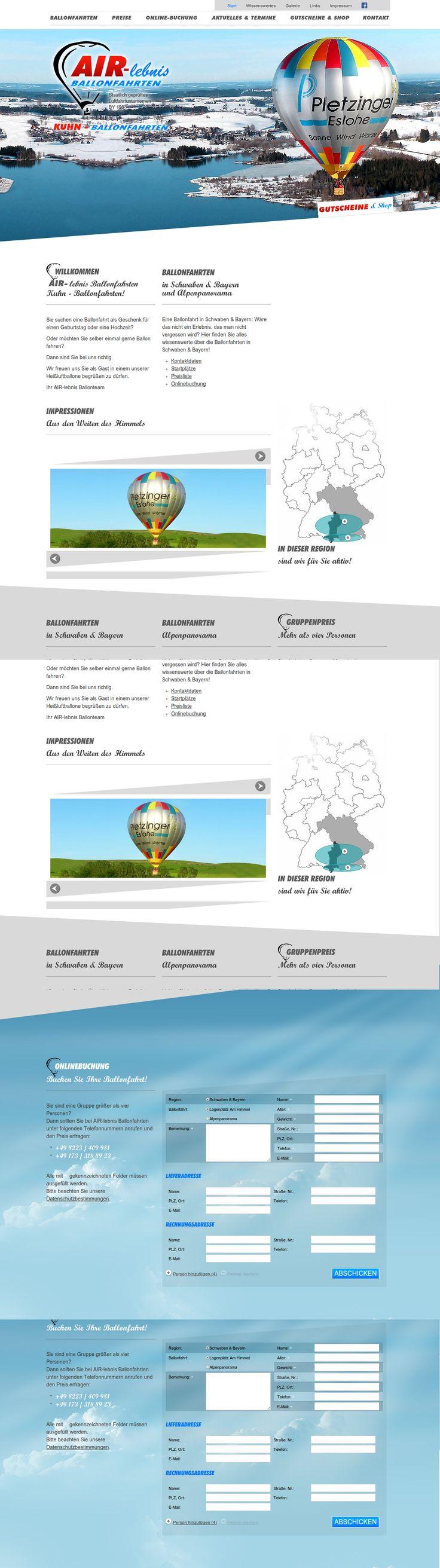 """Eine Ballonfahrt vor herrlichem Alpenpanorama in Schwaben oder Bayern, ist ein wundervolles Air-Lebnis. Die moderne Website http://www.air-lebnis.de/ mit einmaligen Impressionen aus den Weiten des Himmels hat auch die International Academy of Visual Arts überzeugt und ist mit dem """"Communicator Awards 2013"""" prämiert worden."""