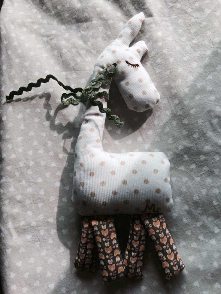 Easy sewing! #giraffe #toy #zirafa #girafa